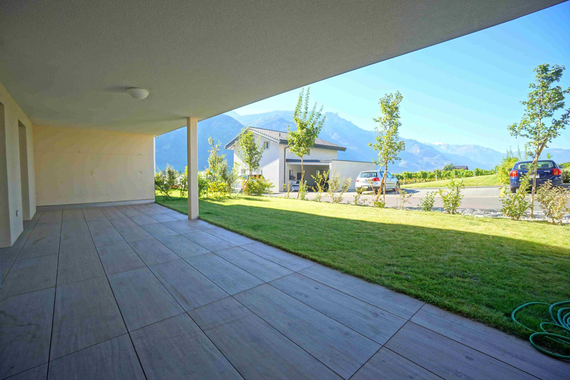 Rez de Jardin de 106 m2, pelouse 76 m2