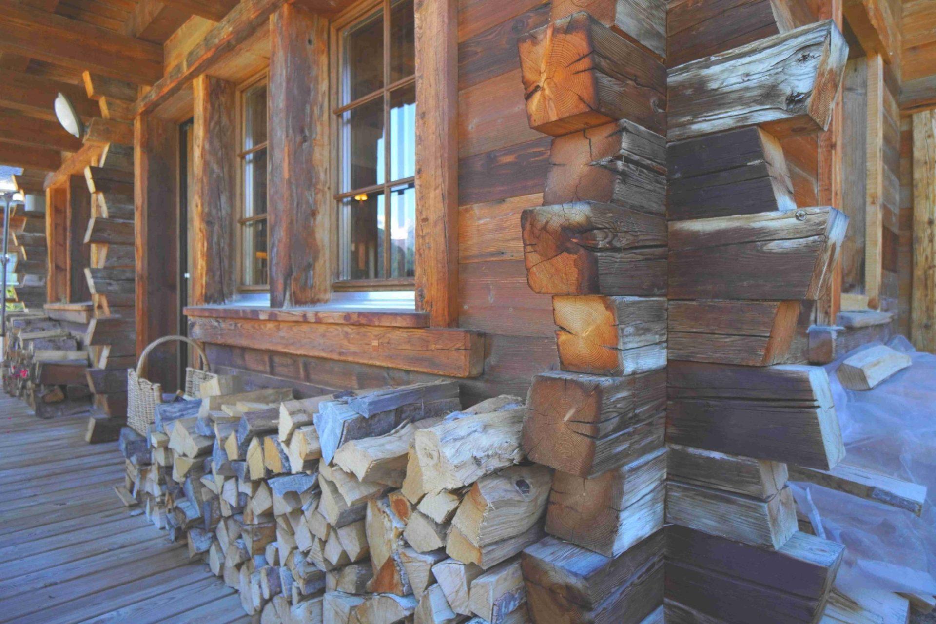 Authentique chalet en vieux bois