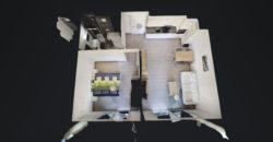 2 pièces 1/2 de 58 m2 en rez de jardin avec terrasse et pelouse privative